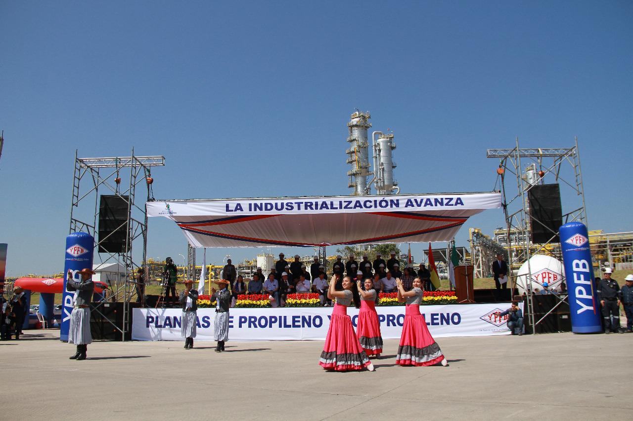 """YPFB licita ingeniería del proyecto """"Plantas de Propileno y Polipropileno"""""""