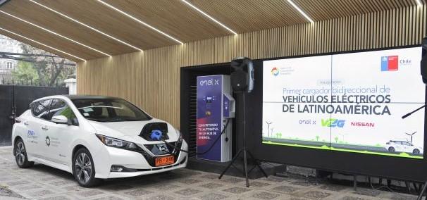 Chile evalúa ventajas de tecnología de carga bidireccional de vehículos