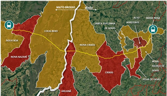 Brasil avanza con proyecto ferroviario de US$485mn