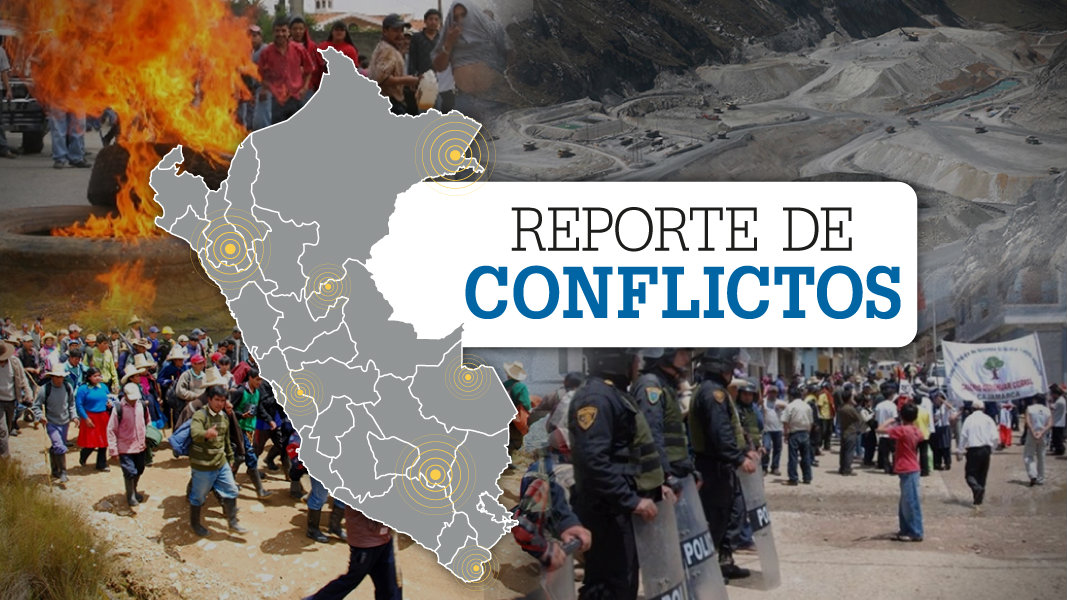 Conflictos sociales en Perú aumentan levemente en junio