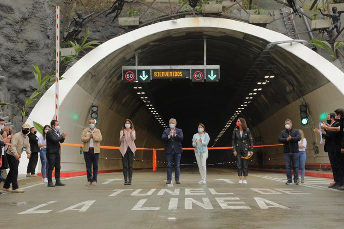Colombia inaugura túnel más largo de Latinoamérica