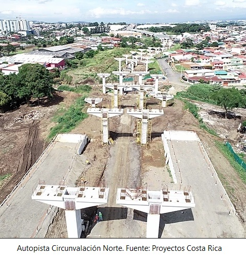 Costa Rica progressing with highway projects financed by development banks
