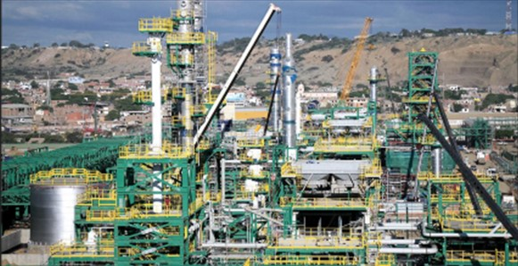 Construction of the New Talara Refinery continues in its last stage of execution
