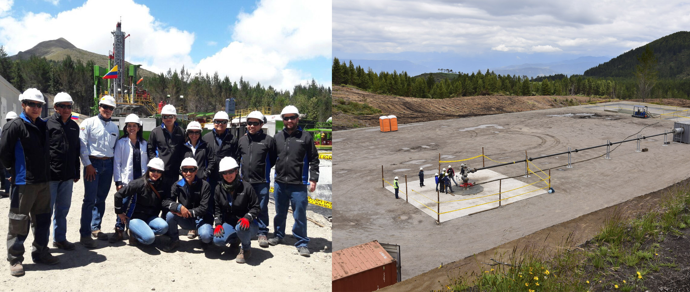 Chachimbiro, Ecuador, tendrá la primera central de generación eléctrica con energía geotérmica