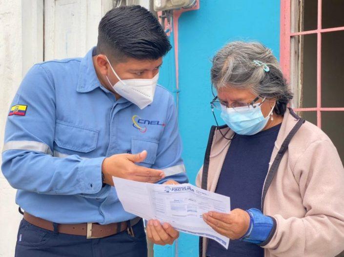 En 11 días, más de 814 mil clientes residenciales de CNEL EP se han beneficiado de las medidas compensatorias
