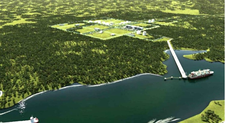 Permitting advances for new Panama LNG project