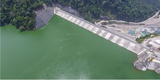 Regulatory reservoirs in optimal condition at the end of the dry season in Costa Rica