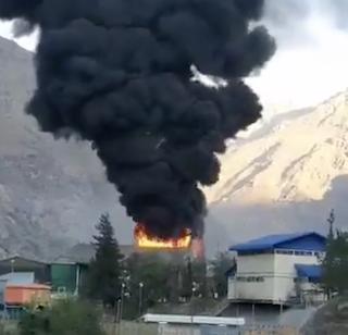 Incendio afecta a División Andina de Codelco