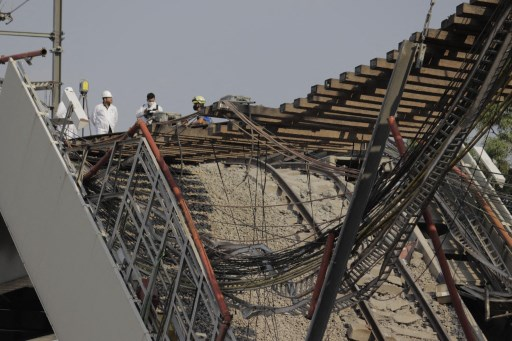 Mexico City refutes overpass collapse victims' claims