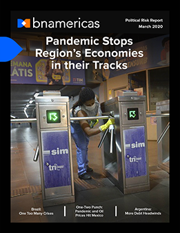 Political Risk: Pandemic Stops Region's Economies in their Tracks