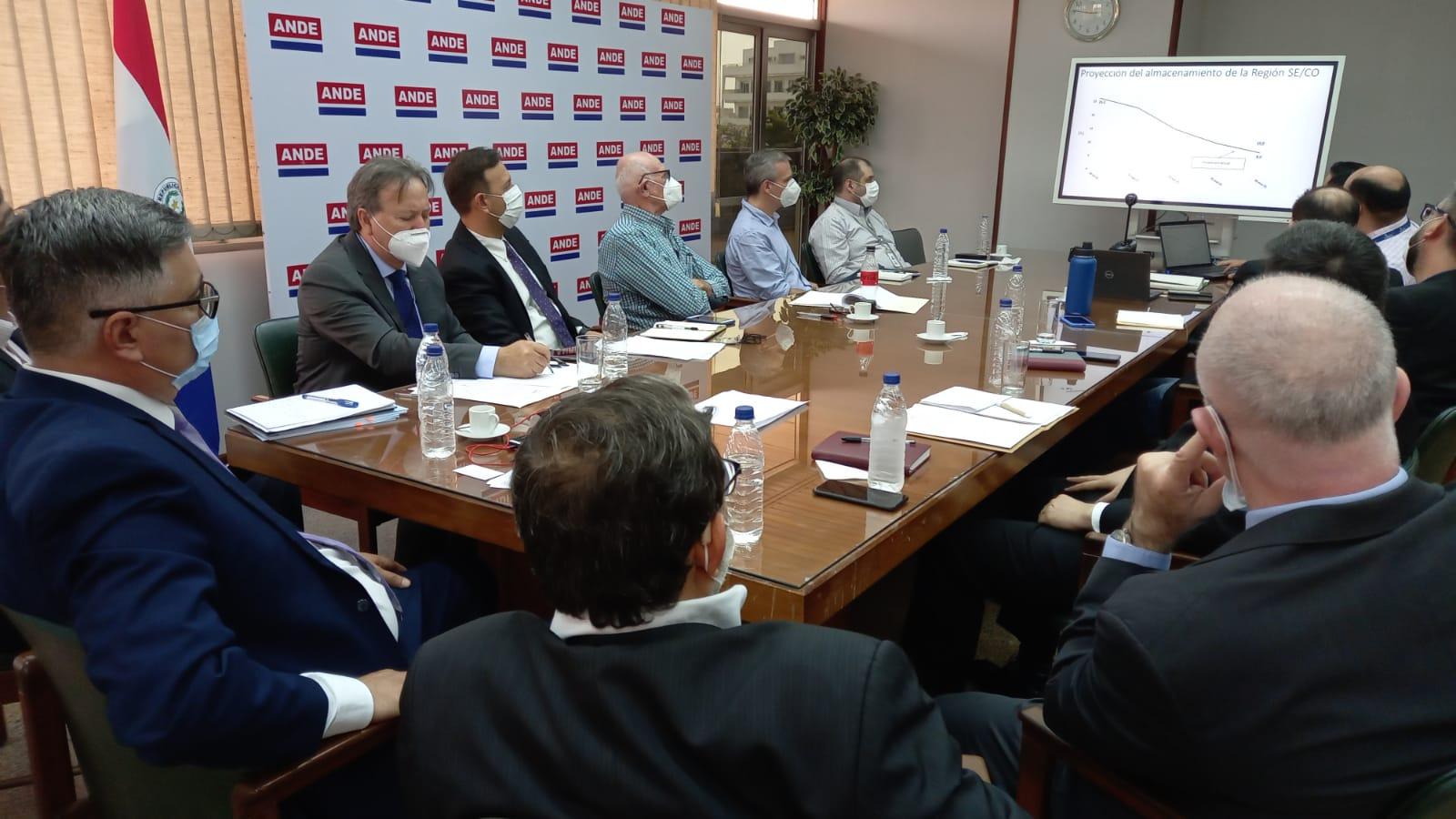 Se realizó la primera reunión del equipo técnico para el análisis de la situación hidrológica del Paraná