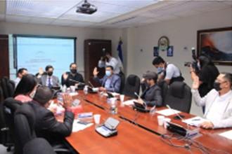 Mesa legislativa continúa estudio de proyecto para crear Dirección General de Energía, Hidrocarburos y Minas en El Salvador