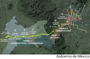 Work resumes on Mexico interurban rail link