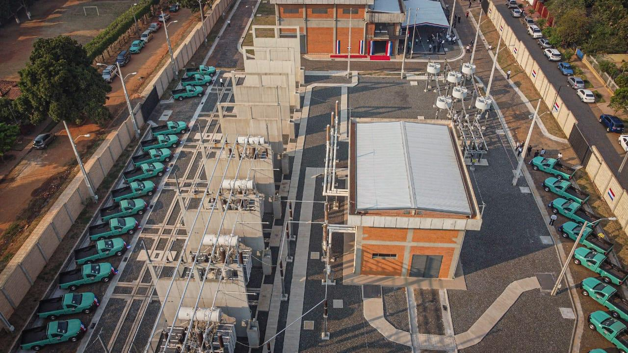 ANDE inaugura nueva Subestación Barrio Molino para el refuerzo del suministro eléctrico en Central