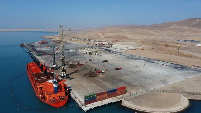 Peru recepciona obras en terminal portuario General San Martín