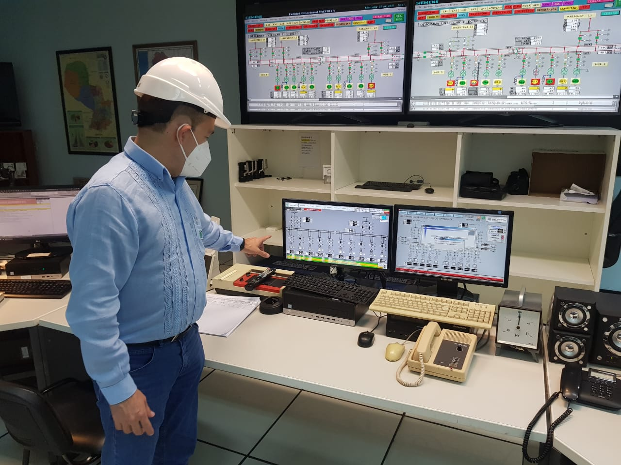 Yacyretá advances in updating works to achieve interconnection with Itaipu