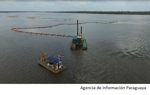 Paraguay adjudica contratos de dragado de río