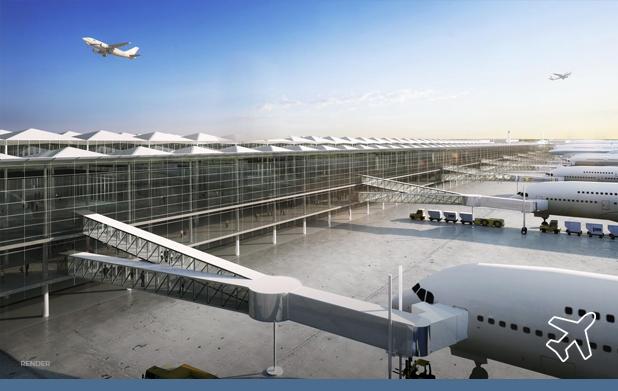 AMLO kicks off works at Santa Lucía airport