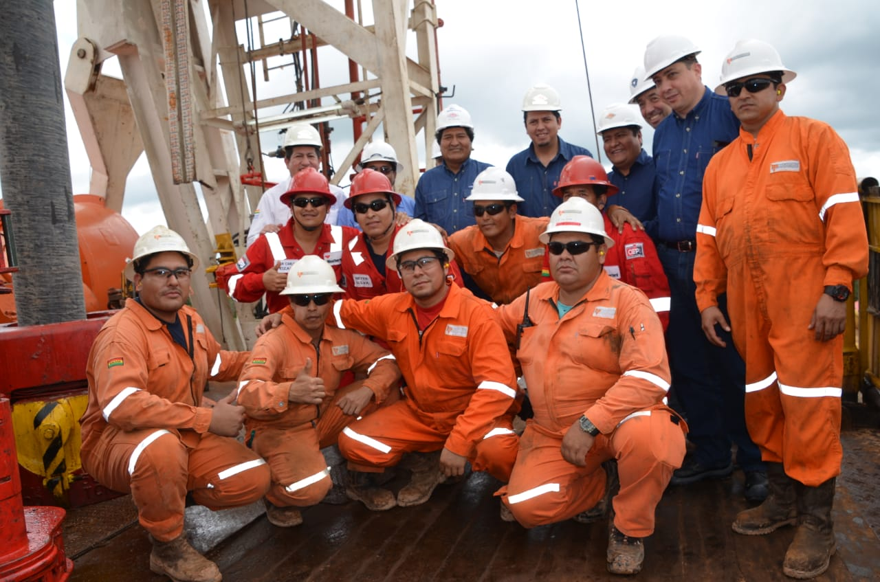 Chaco Este-X2 will guarantee oil, for the production of gasoline and more gas for Bolivians