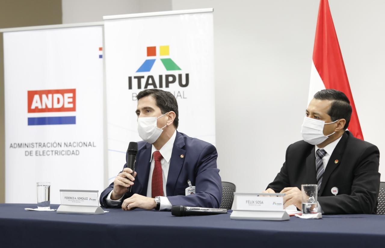 ITAIPU otorga USD 203 millones a la ANDE para fortalecer el sistema eléctrico paraguayo