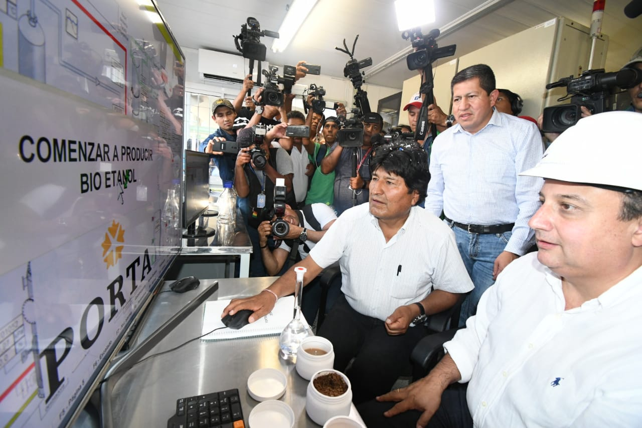 Inicia en Bolivia la producción de etanol anhidro en base a sorgo