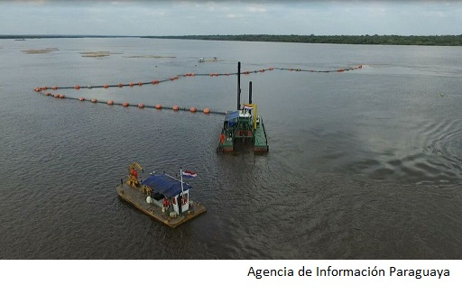Paraguay awards river dredging contracts
