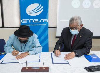 La firma de un Memorando de Entendimiento formaliza los avances de Proyectos Socioambientales en la Comarcal Kuna de Wargandí