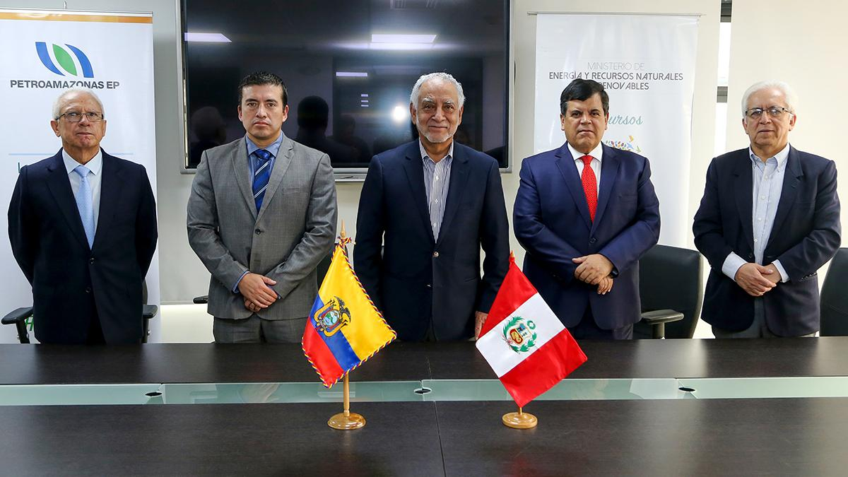 PETROPERÚ and PETROAMAZONAS will evaluate the execution of border projects in Peru and Ecuador