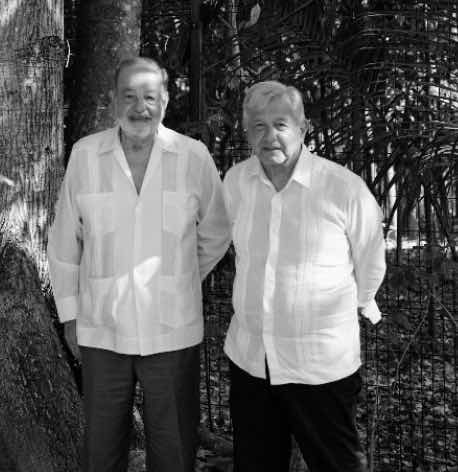 Proyectos de infraestructura: la base del estrecho vínculo entre AMLO y Carlos Slim