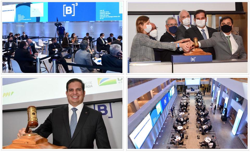 Subasta de transmisión eléctrica de Brasil genera fuerte competencia