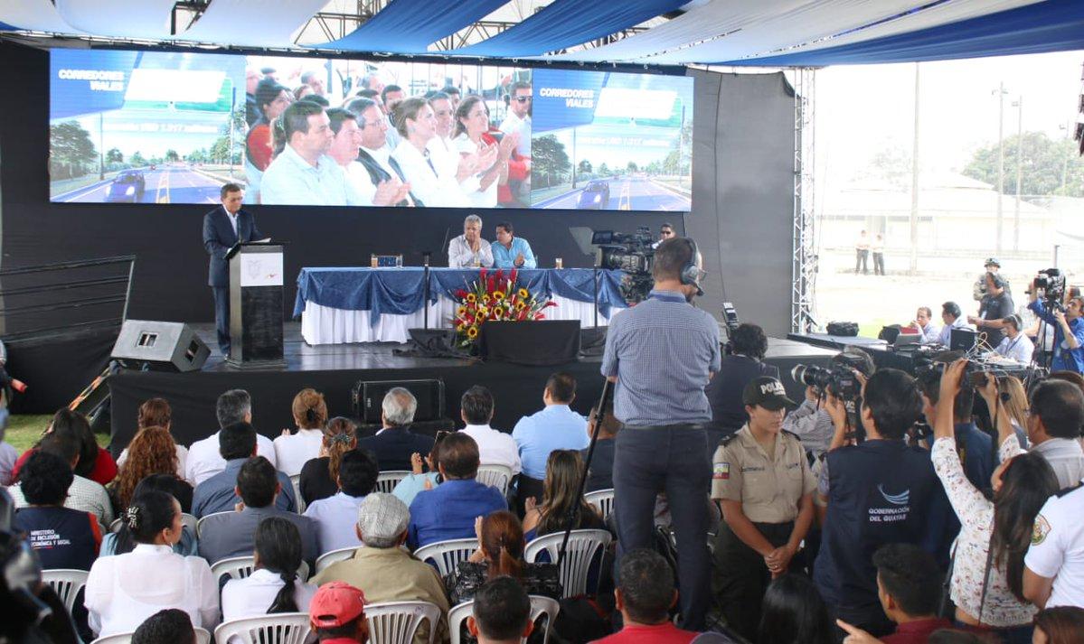 Ecuador lanza subastas de obras viales por US$1.300mn