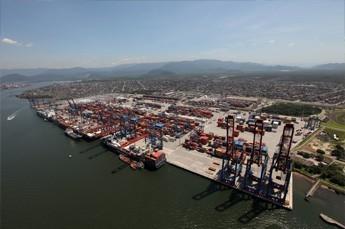 Sector portuario brasileño interesa a privados, pese a débil actividad