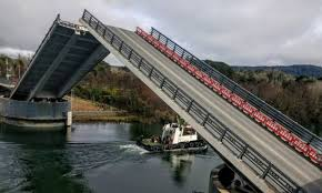 Piñera pledges repair tender for Chile's Cau Cau bridge