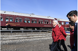 Piñera presents US$5bn investment plan for rail network