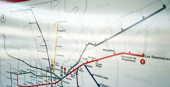 Obras en nueva línea de metro de Santiago partirían este año pese a oposición