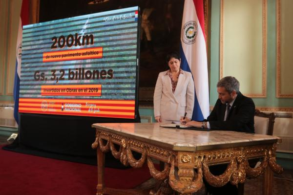 Paraguay's president hurries US$300mn in investments to secure position