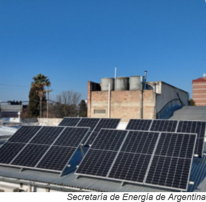 Argentina ofrece créditos fiscales más favorables para generación distribuida