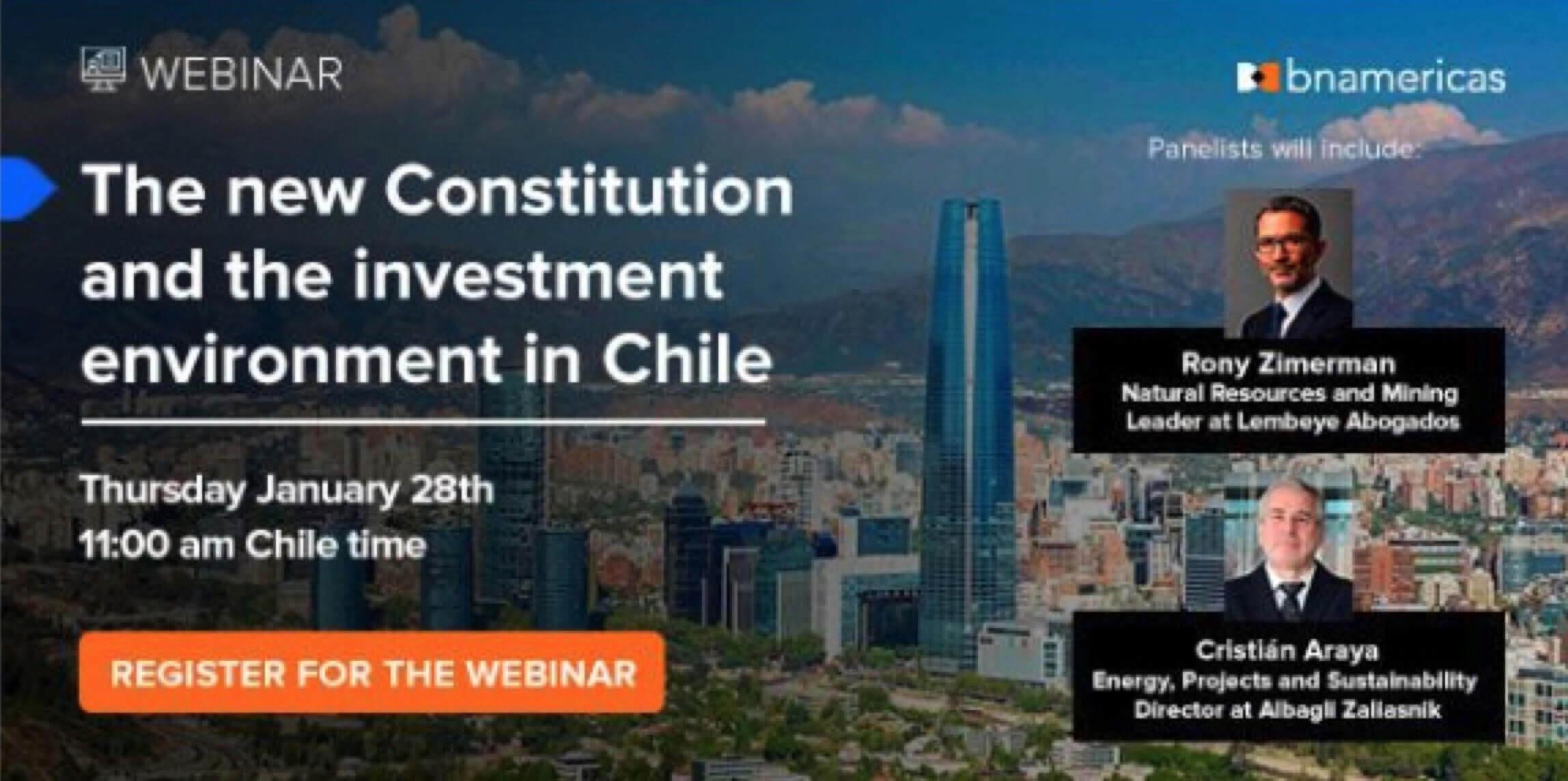 VIDEO: nueva constitución y escenario de inversión en Chile
