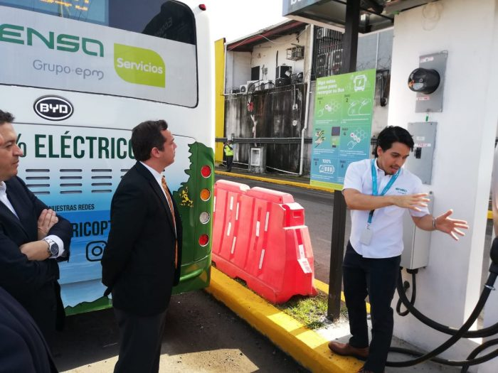 Electric bus is already circulating in Panama, first steps towards electromobility