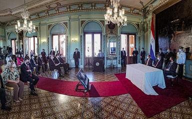 Paraguay lanza plan de transparencia y anticorrupción 2021-2025