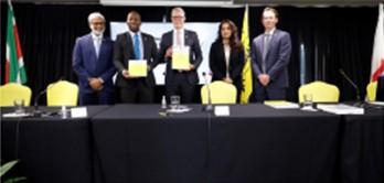 Staatsolie firma un contrato de producción compartida costa afuera con Chevron