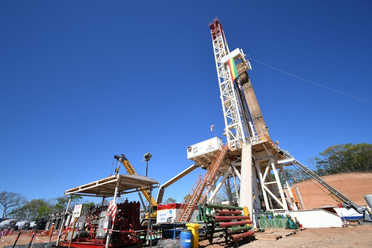 Se inicia la perforación del pozo Boicobo Sur–X1 en Bolivia