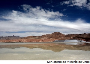 Chile to push lithium carbonate production