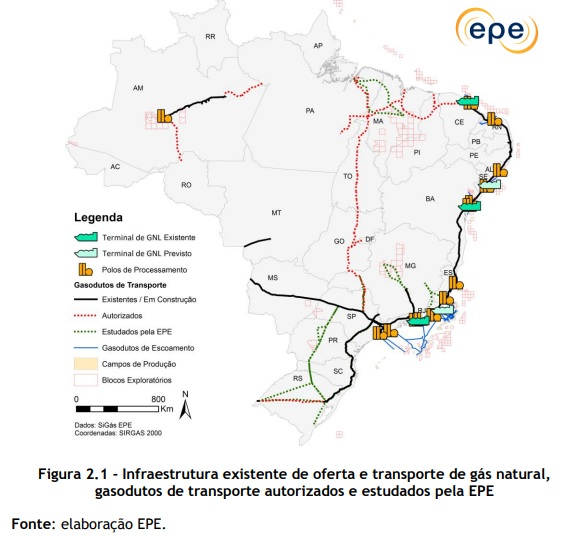 Spotlight: A look at 11 gas pipeline projects in Brazil