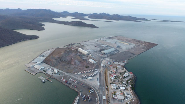 Construction begins on Mexico's Topolobampo port