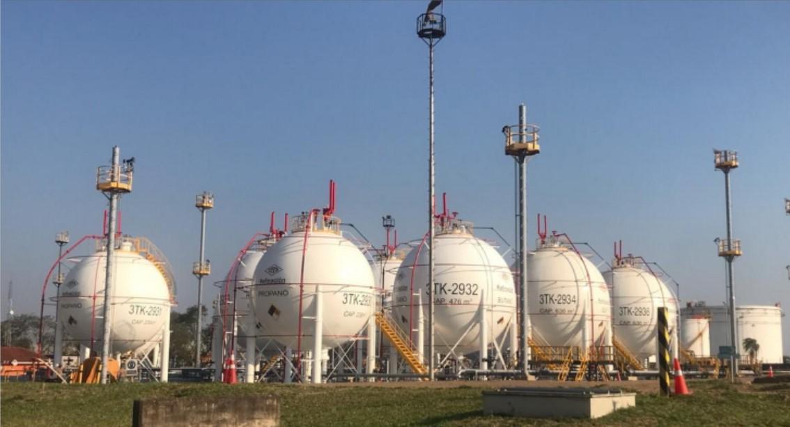 Santa Cruz se convierte en el centro distribuidor de GLP del mercado interno y de exportación