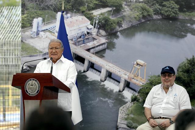 El Salvador aprueba inicio de obras de planta potabilizadora Las Pavas