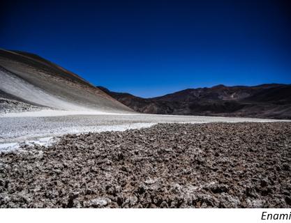 Chile's Enami launches lithium exploration tender