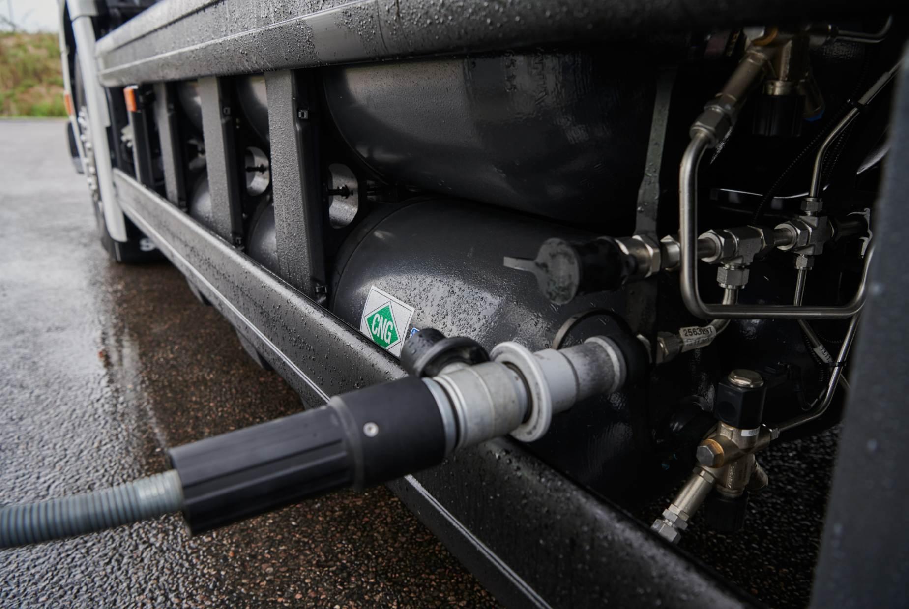 Scania ampliará su participación en el mercado de camiones a gas