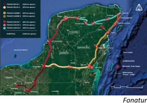 Consorcio mexicano presenta oferta de US$530mn por tramo del Tren Maya